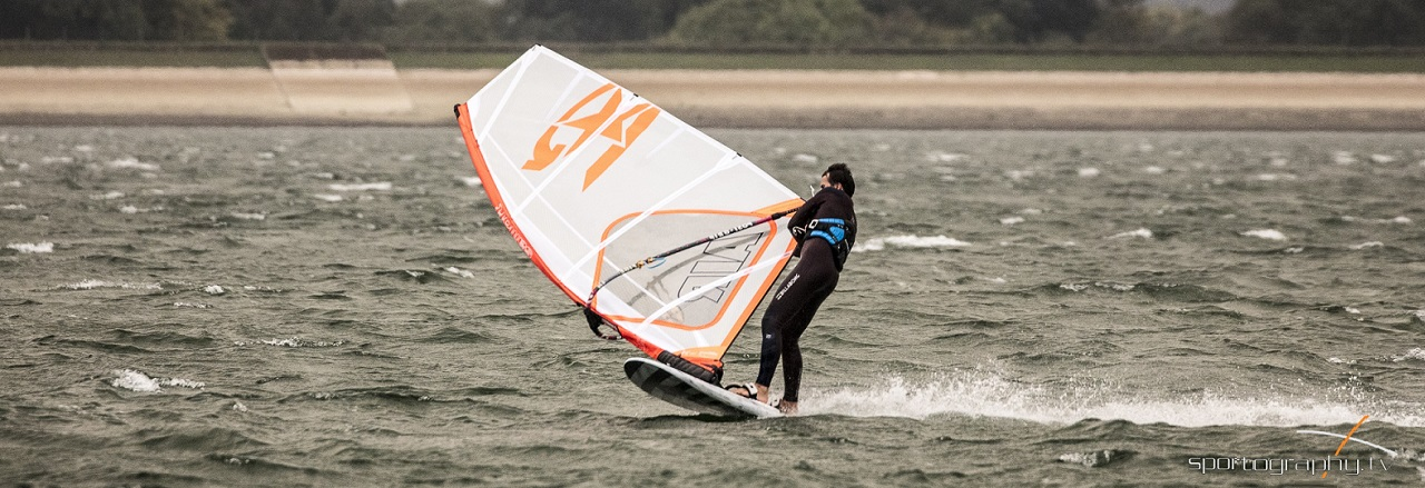 the windsurfer gybe