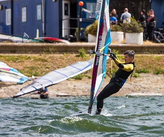 Windsurfing » Queen Mary Sailing Club