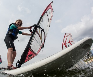 Windsurfing (9-15 years) » Queen Mary Sailing Club